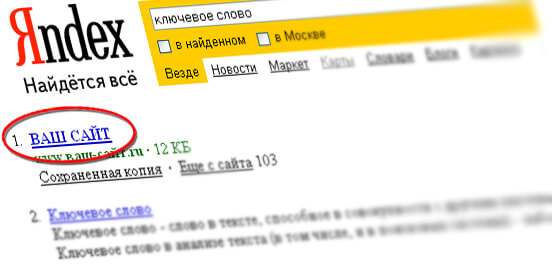 Поисковая оптимизация сайта в Уфе