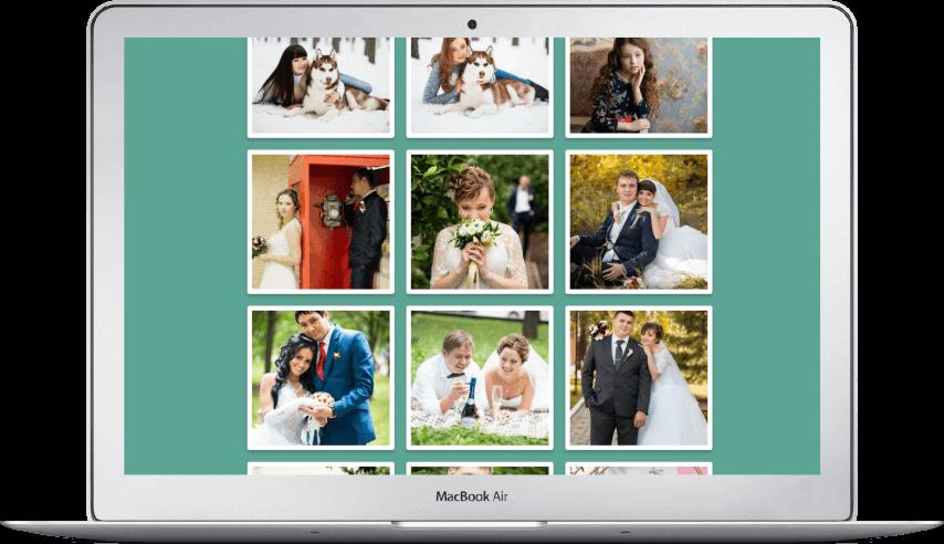 Создание сайта свадебного фотографа